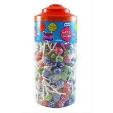 Vidal Tongue Painter Lollies Tub - 3 Flavours