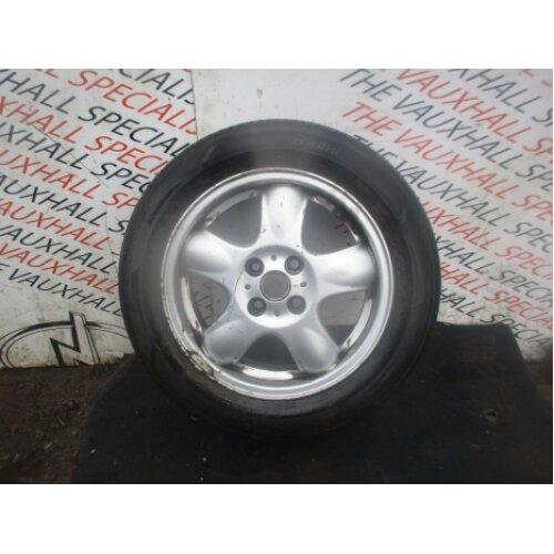 Mini Cooper One R55 R56 06-13 Single Alloy Wheel + Tyre 175-65-15 768498 *scuffs - Used