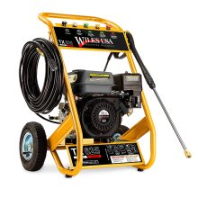Wilks USA TX625 High Performance Petrol Pressure Washer 3950PSI | Professional & Domestic Surface Cleaning Jet Washer 8.0HP/272 Bar