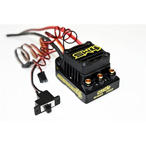 Castle Creations 010-0164-00 Sidewinder 4 Waterproof Sensorless Esc
