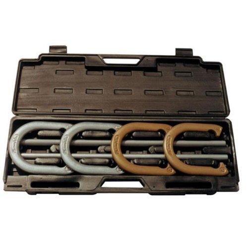 Steel Horseshoe Set