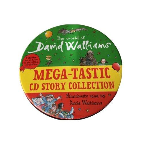 David Walliams Mega-tastic CD Collection | 32 Disc Audio Book CD Collection