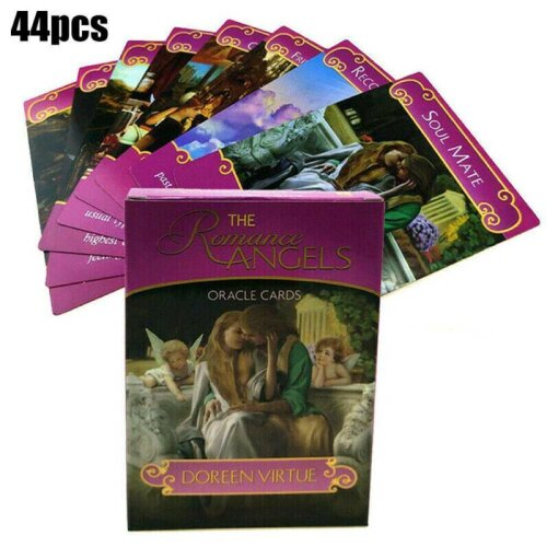 44pcs Romance Angel Oracle Cards Tarot Game Card Set Gift Toy Gift