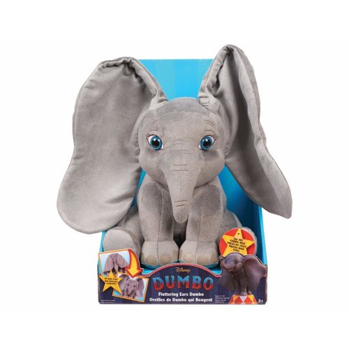 Dumbo Flopping Ear Feature Plush