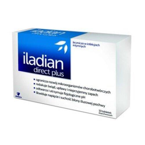 Iladian Direct Plus 10 caps Vaginal Infections UK Stock
