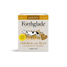 Forthglade Complete Adult Chicken with Liver Grain Free 395g - 261299
