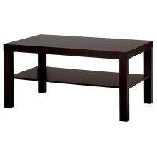 Ikea LACK Coffee table, black-brown 90x55 cm
