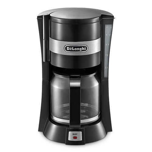 De'longhi 1.3 L Filter Coffee Maker of 10-15 Cup Capacity, 900 W – Black