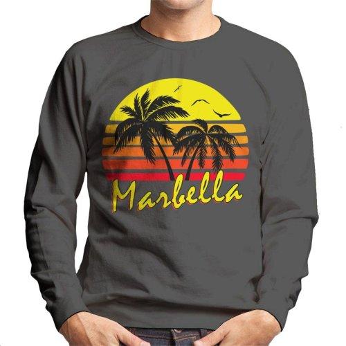 Marbella Vintage Sun Men's Sweatshirt