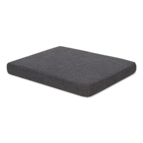 ALE Seat Cushion for File Pedestals, Smoke - 15 x 20 in.