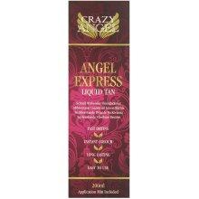 Crazy Angel Fast Acting Liquid Tan Angel Express Medium / Dark 200ml