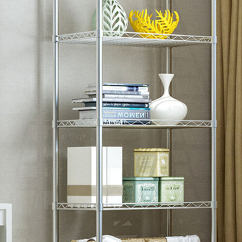 5 Tier Metal Storage Rack/Shelving Wire Shelf Kitchen Office