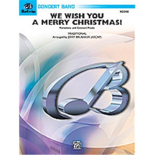 Alfred 00-29608 WE WISH YOU MERRY CMAS-BCB3 SET4D