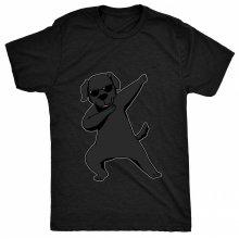 8TN Dabbing Black Labrador Unisex-children T Shirt