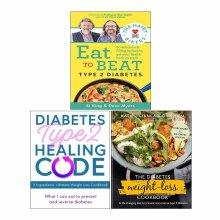 Hairy Bikers Eat to Beat Type 2 Diabetes,WeightLoss Cookbook 3Book Set