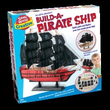 Build-A-Pirate Ship Toy Suitable for Ages 8 +