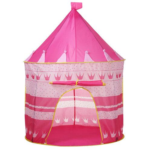 (Red) Children Kids Play Tent Fairy Girls Boys Playhouse