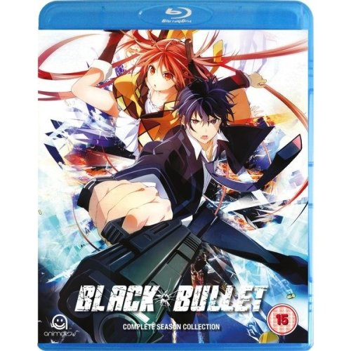 Black Bullet - Complete Season Collection Blu-Ray [2015]
