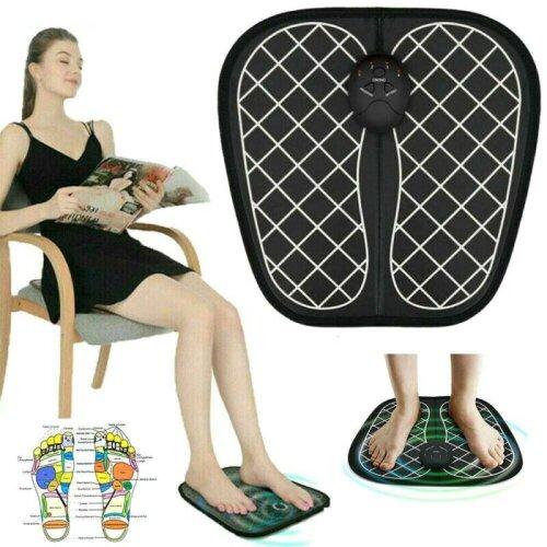 Foot Massager Spa Pads Feet Acupoint Massage Pedicure Machine Blood Circulation