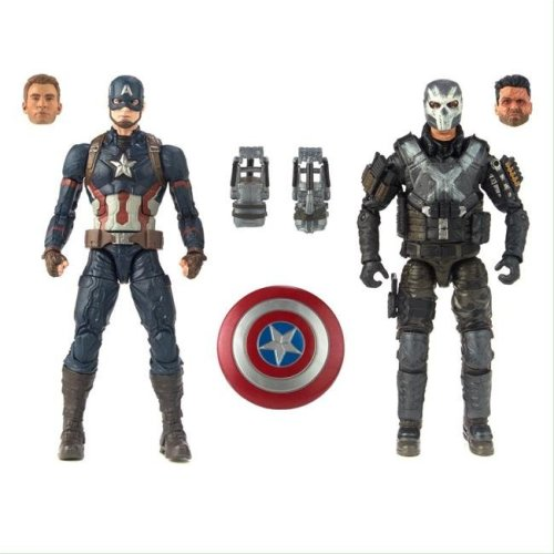 Hasbro HSBE2447 Marvel Cinematic Universe - 10th Anniversary CA3 Figures - Pack of 4