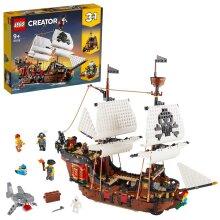LEGO Creator 3in1 Pirate Ship Set 31109 Age 9+ 1262pcs