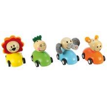 Bigjigs Toys Pull Back Racing Animal