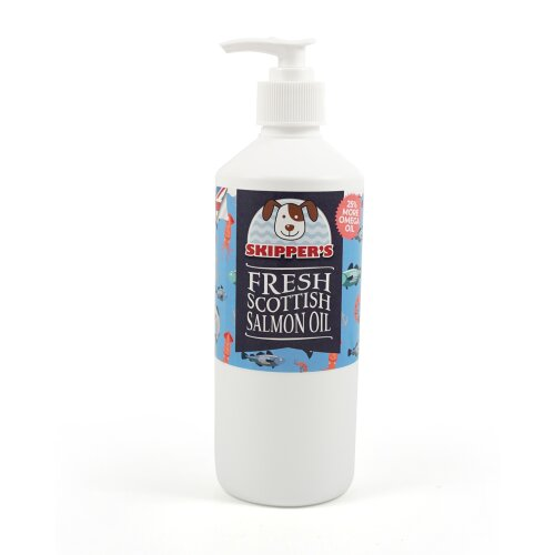 100% Fresh Salmon Oil for Dogs
