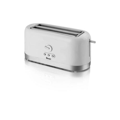 Swan 4 Slice Long Slot Toaster