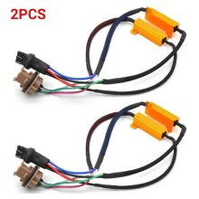 2PCS 7443 Double Resistance Single Wire 50W 8Ohm Decoding Resistance Resistor
