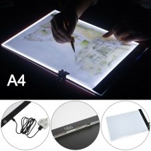 A4 Artist LED Drawing Board Tracing Stencil Display Light Box