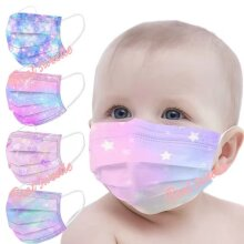 50 disposable masks for toddlers 3-ply ear muffs for toddlers Protective