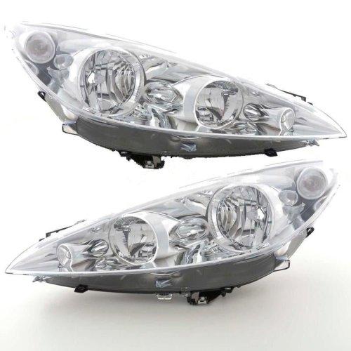 Peugeot Rcz 2010-> Headlights Headlamps 1 Pair O/s & N/s
