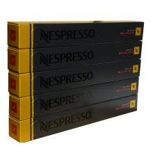 50 Nespresso Volluto Decaffeinato Coffee Capsules