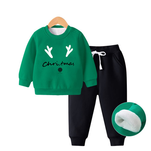 Christmas Reindeer Kids Sweatshirt Sets