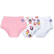 Bambino Mio, Potty Training Pants, Mixed Girl, Fairy, 3+ Years (3Pack)