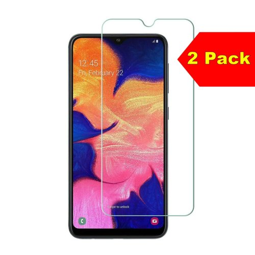 For Huawei Mate 20 X - Twin Pack of 2 X Tempered Glass Screen Protectors