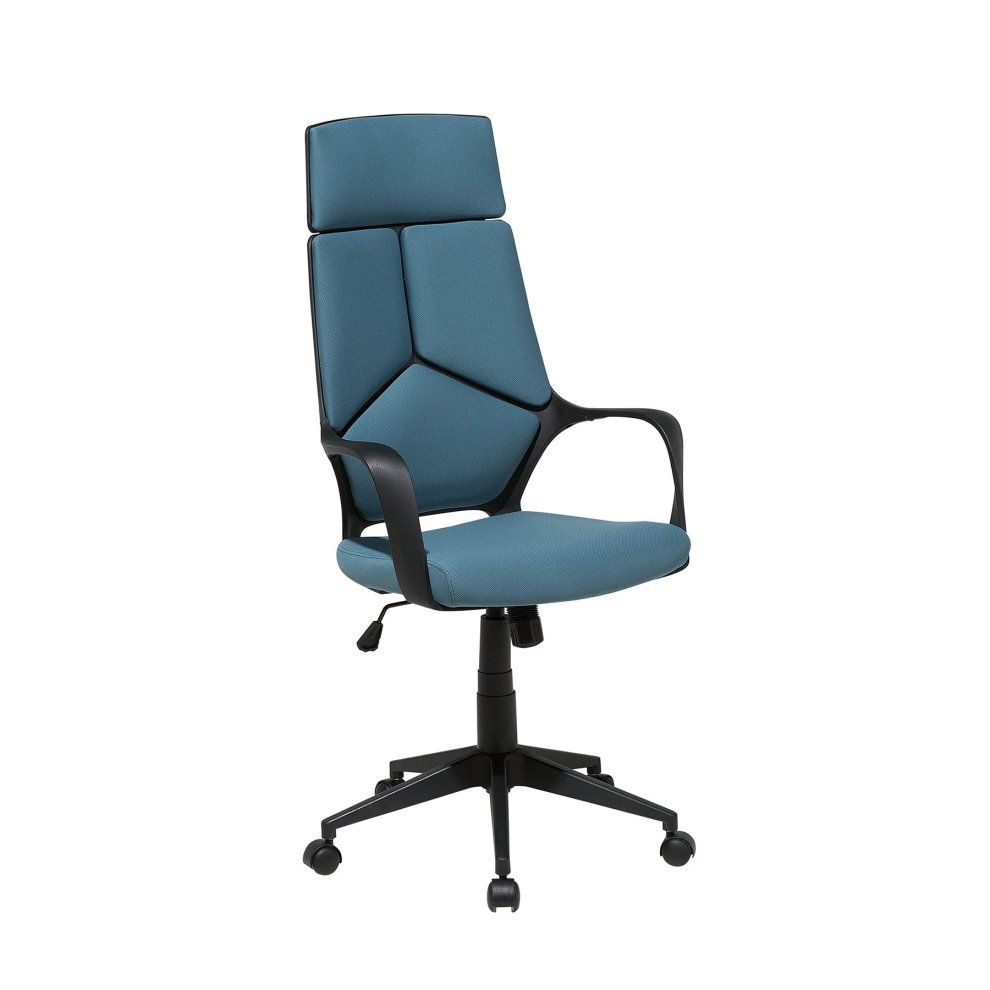 Swivel Office Chair Teal and Black DELIGHT on OnBuy