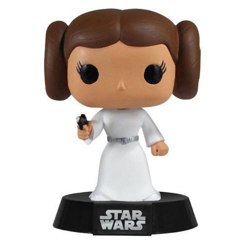 Funko Pop! Star Wars - Princess Leia Vinyl Figure #04