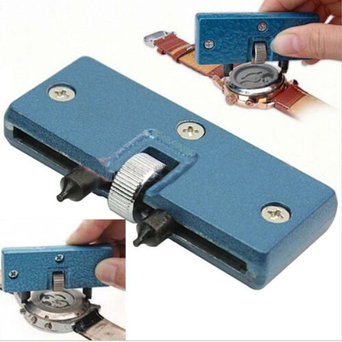 Adjustable Watch Repair Tool Kit Back Case Opener Cover Remover Screw Wrench UK