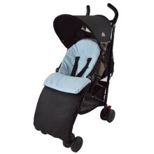 Chicco Footmuff / Cosy Toes Compatible with Urban London Echo Multiway Lite Way Blue