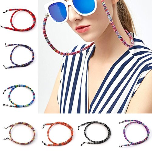 Ethnic Style Eyeglass Sunglasses Cotton Neck String Cord Retainer Strap Eyewear Lanyard Holder