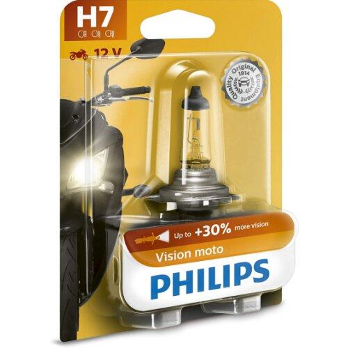 motor lamp H7 Vision Moto12V/55W white