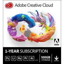 Adobe Creative Cloud All Apps | 1 Year | PC/Mac | Download