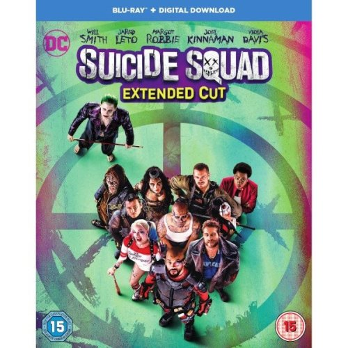 Suicide Squad - Extended Cut Blu-Ray [2016]