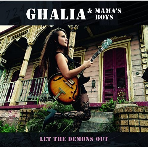 Ghalia and Mamas Boys - Let The Demons Out [CD]