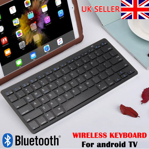 New Slim Wireless Bluetooth Keyboard For PC Android Phone iPad Tablet