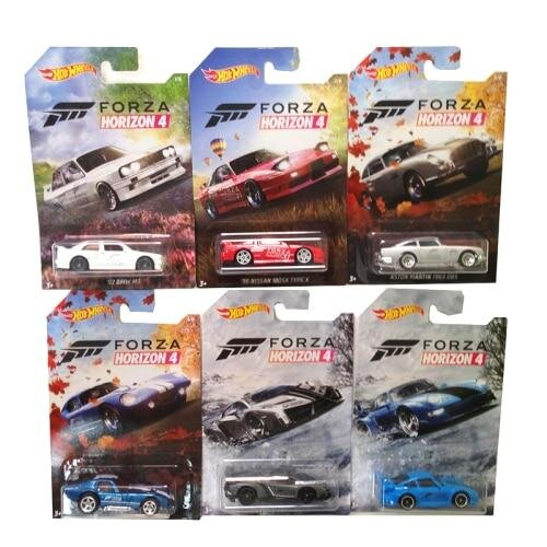 (GDG45-6pcs A set) Wheels Forza Motorsport Premium Vehicle Set