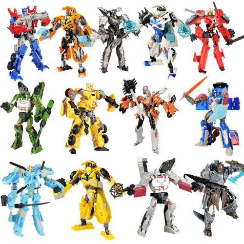 Transformers Toys Robots Bumblebee Action Figures