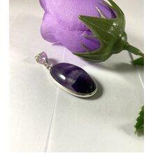 Amethyst pendant natural gemstone pendant