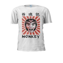 Monkey Magic Retro Graphic 70s 80s kung fu Martial Arts Men Women Unisex Top T Shirt